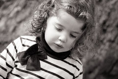 Pensive Child Royalty Free Stock Photos