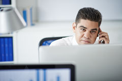 Pensive entrepreneur Stock Photos