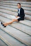 Pensive female Royalty Free Stock Photos