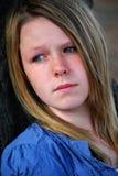 Pensive girl Stock Photography