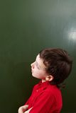Pensive kid Stock Photo