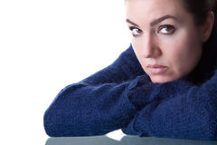 Pensive Look Royalty Free Stock Images
