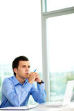 Pensive man Stock Photography