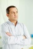 Pensive man Royalty Free Stock Photo