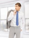 Pensive man Stock Photography