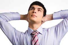 Pensive man Royalty Free Stock Image