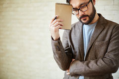 Pensive man Royalty Free Stock Images