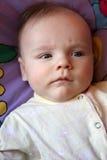 Pensive newborn Stock Images