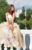 Pensive princess Stock Photo
