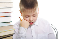 Pensive pupil Stock Photography