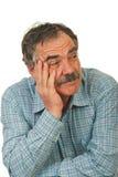 Pensive senior business man Stock Photo
