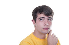 Pensive teen Stock Images