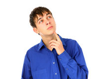 Pensive Teenager Stock Images
