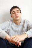 Pensive Teenager Stock Photos