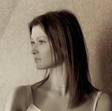Pensive Woman Stock Photography