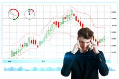 Economy and interface concept Royalty Free Stock Photo