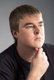 Pensiveness man Stock Photography