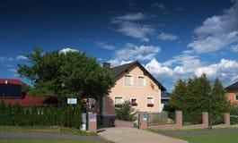Pensjonat w Maiersdorf wiosce obraz royalty free