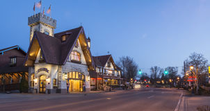 Pensão bávara (Frankenmuth Michigan) Foto de Stock