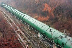 Penstock pipe Royalty Free Stock Photography