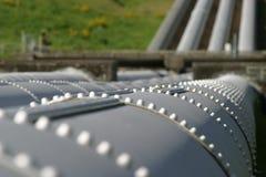 penstocks σταθμός παραγωγής ηλε&kap στοκ εικόνες