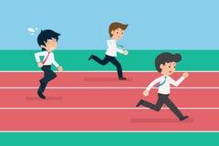 Pensyjna mężczyzny 01 biznesu rywalizacja Pensyjni 01 mężczyzny Bezprogramowa Biznesowa rywalizacja ilustracji