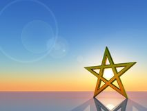 Pentacle Royalty Free Stock Photography