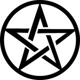 pentacle Royaltyfria Foton