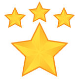 Pentacle da estrela Fotos de Stock