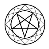 Pentacle Royalty Free Stock Photos