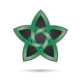 Pentacle, traditional mythological symbol Stock Photo