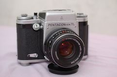 Pentacon zes TL Stock Afbeelding