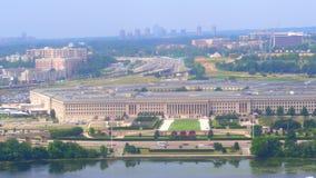 Pentagon DC. Aerial video of the Pentagon in Washington DC