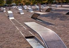 Pentagon för 911 minnes- offer attack Virginia Washington Fotografering för Bildbyråer