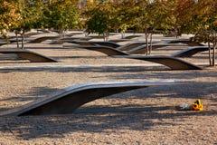 Pentagon för 911 minnes- offer attack Virginia Washington Royaltyfri Fotografi