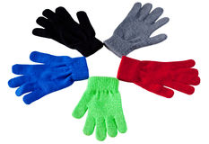 Pentagon Gloves Stock Photos