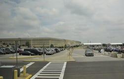 Arlington,Virginia,5th July: The Pentagon building from Arlington in Virginia USA Royalty Free Stock Photos