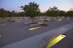 The Pentagon Memorial Stock Photos