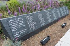 Pentagon memorial, Virginia Stock Photos