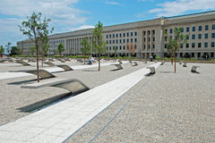 Pentagon memorial in Washington DC Royalty Free Stock Image