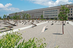 Pentagon memorial in Washington DC Royalty Free Stock Photography