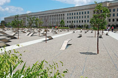 Pentagon memorial in Washington DC Stock Photos