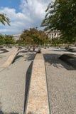 The Pentagon Memorial in Washington DC - no names on display. The Pentagon Memorial in Washington DC Stock Photos