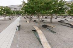 Pentagon pomnik, Virginia Zdjęcia Stock