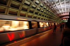 Pentagon station. Pentagon subway station in Washington, USA Stock Photos