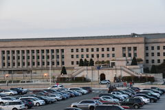 The Pentagon in Washington DC. USA royalty free stock image