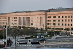 The Pentagon in Washington DC. USA royalty free stock images