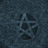 pentagram предпосылки Стоковое Изображение