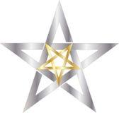 Pentagram Royalty-vrije Stock Afbeelding
