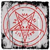 Pentagram stock illustrationer